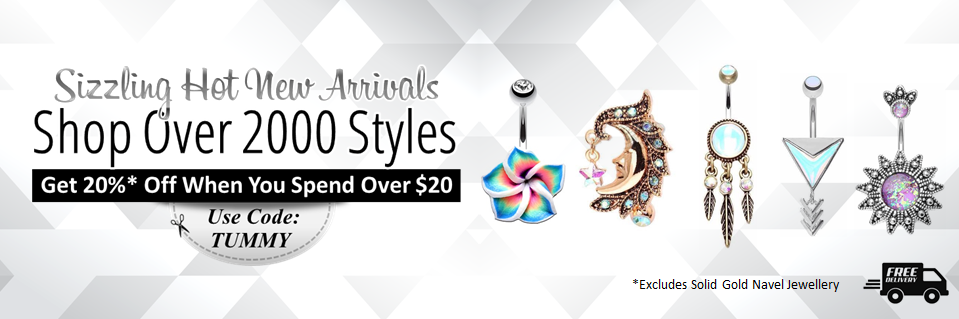 Shop Belly Rings Australia