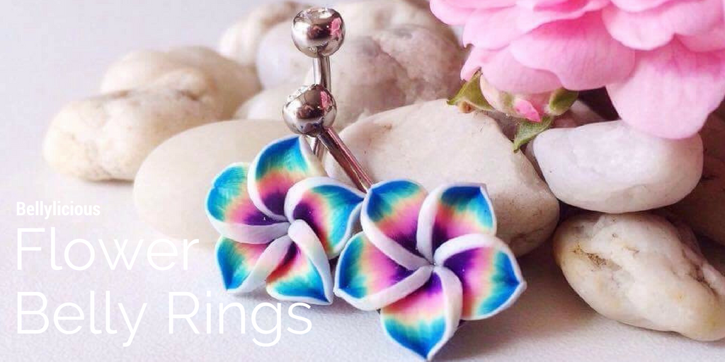 Flower Belly Rings