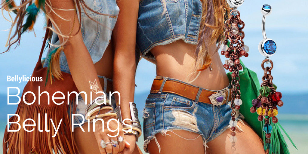Bohemian Belly Rings