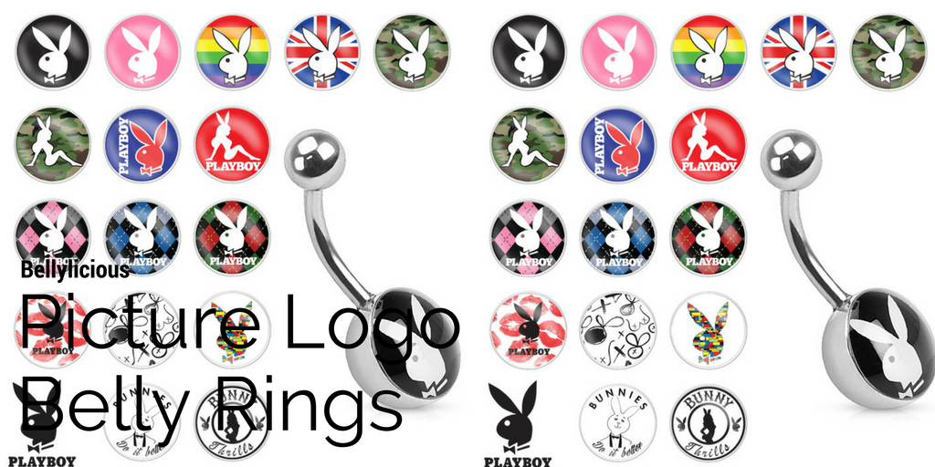 Picture Logo Belly Rings
