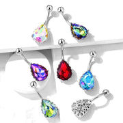 The Lady Aurora Filigree Belly Bar