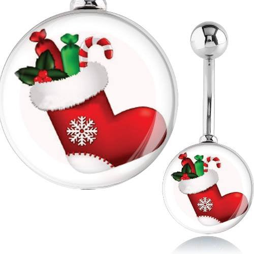 Christmas Belly Rings Australia