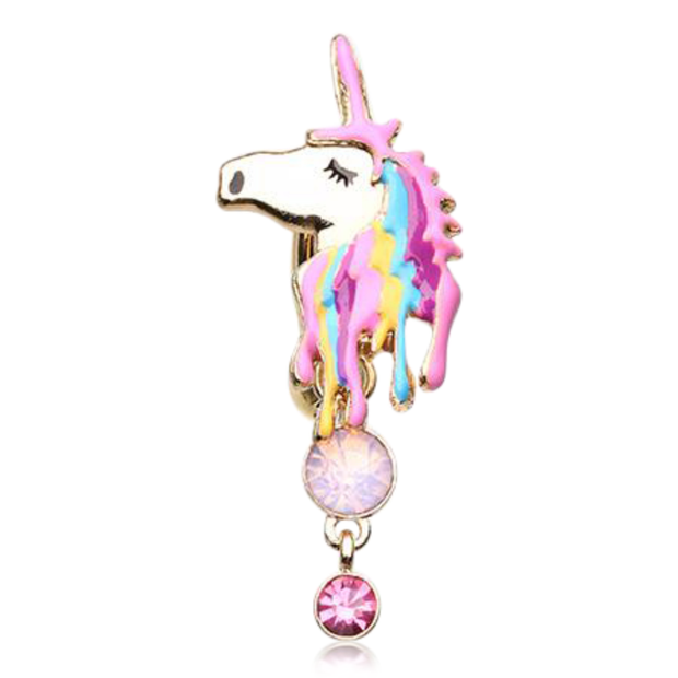 Kingdom of Dreams Unicorn Belly Dangle
