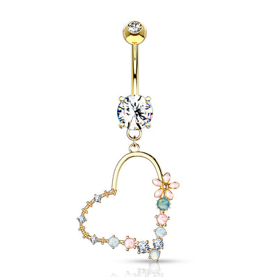 Golden Love in Bloom Belly Bar