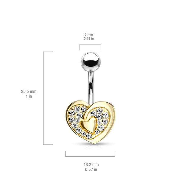 The Tale of Two Hearts Belly Bar