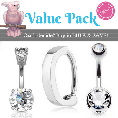 Value Pack Belly Rings