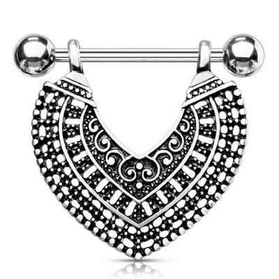 Nairobi Spirit Dangle Nipple Ring