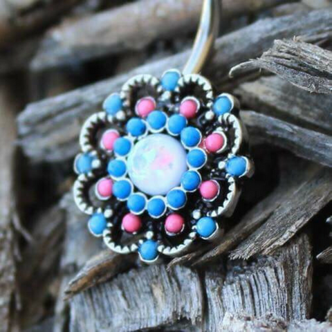 Bohemian Lass Floral Belly Bar