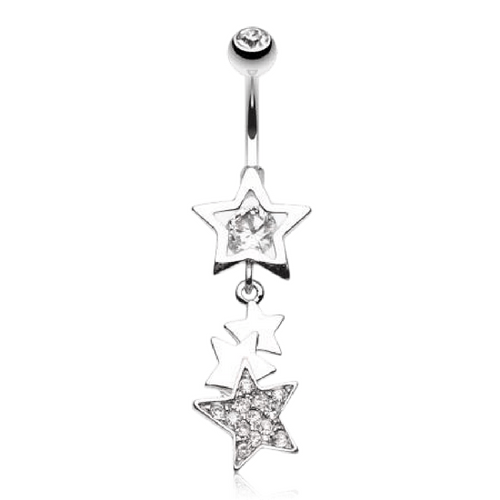 Bound for the Stars Belly Button Ring