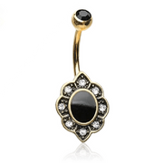 The Morticia Belly Bar