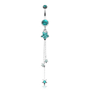 Orions Night Sky Stars Belly Dangle