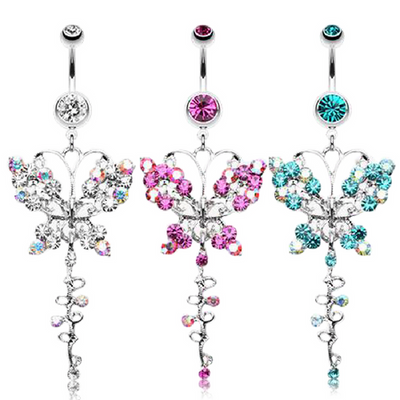Giorgio Fantasy Butterfly Belly Bar