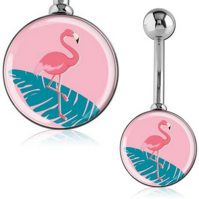 Caribbean Flamingo Belly Bar