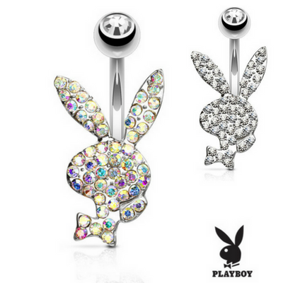 OFFICIAL ©Playboy Motley Belly Ring