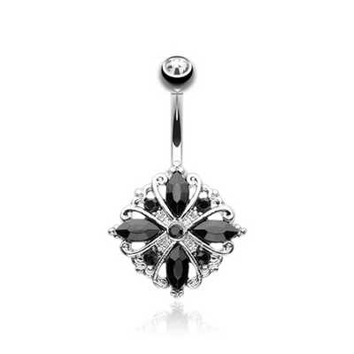 Vitage Nior Sparkle Belly Ring