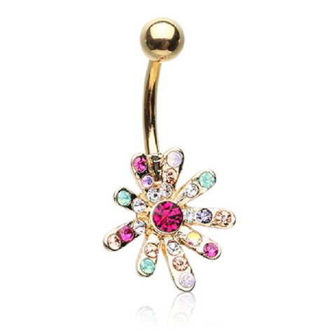 Golden Rainbow Parade Belly Bar