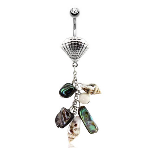 Tropical Themed and Natural Belly Rings
