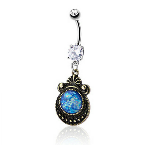 Child of the Sea Dangling Belly Ring
