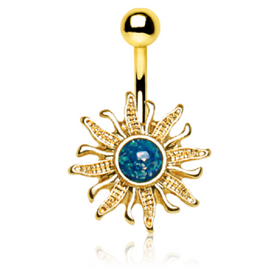 Temple of the Sun Belly Ring