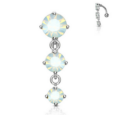 Tantalising Opalescent Gem Fall Belly Bar