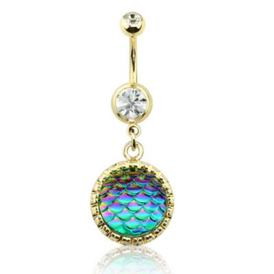 Ocean Goddess Mermaid Belly Bar