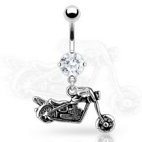 Motorbike Belly Ring