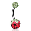 Summer Crusher Watermelon Belly Ring