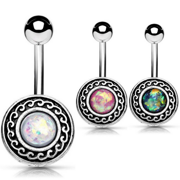 Bohemian Inspired Navel Rings