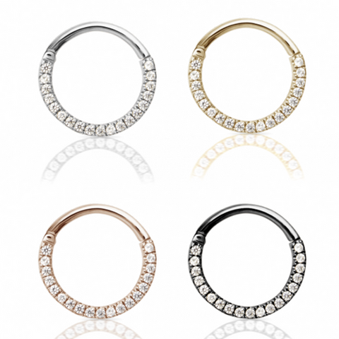 Designer Maria Tash Eternity Septum Rings