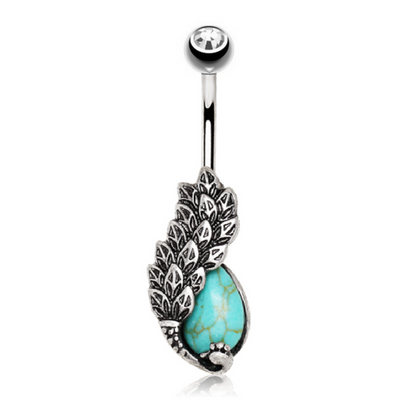 Bohemian Themed Belly Ring