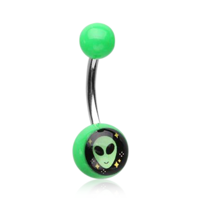 Extra Terrestrial Navel Ring Jewellery.