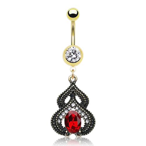 Ottoman Empire Belly Button Ring