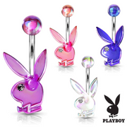 Licensed Playboy Bunny Acrylic Belly Rings