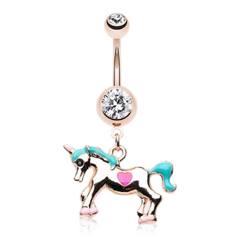 Unicorn Belly Rings