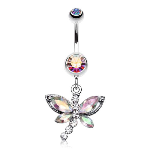 Dragonfly Dangle for Belly Piercings