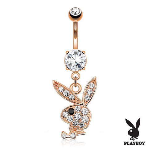 Official Playboy Belly Button Ring