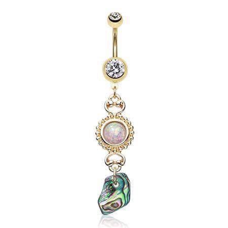 Long Dangle Belly Button Rings Australia