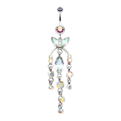 Giovanna Cascade Butterfly Belly Ring