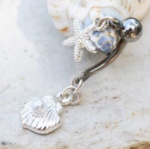 Sea Kiss Charmed Belly Bar