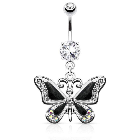 Butterfly Navel Ring Piercings