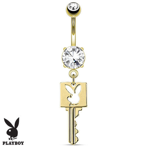 Licensed Playboy Dangling Belly Jewellery