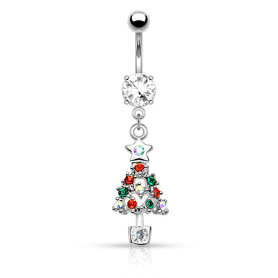 Christmas Tree Belly Piercing Jewellery Australia