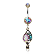 Vintage Opal Belly Button Rings Australia