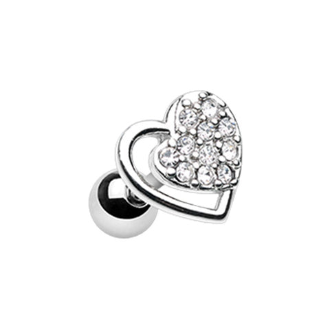 Dreamy Heart Tragus Cartilage Earring