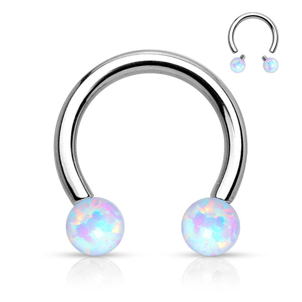 Misty Opal Circular to Barbell