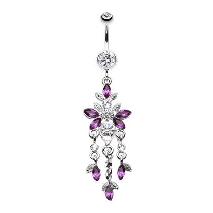 Butterfly Chandelier Belly Bar