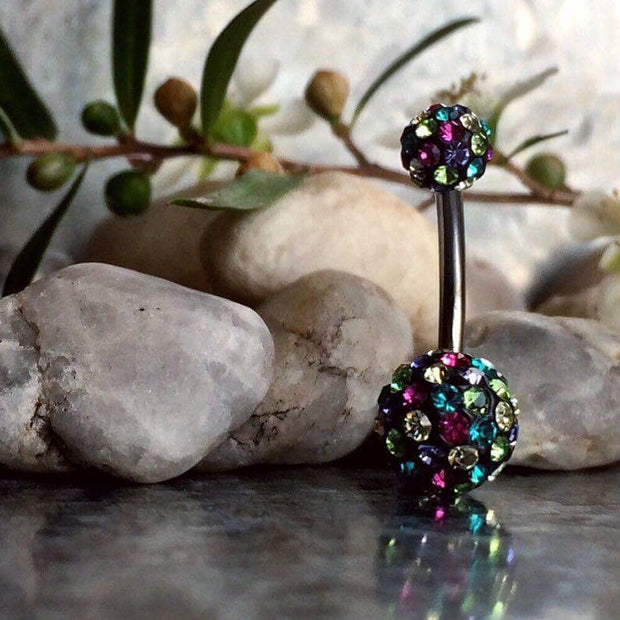 Festival Glamour Tiffany Belly Bar