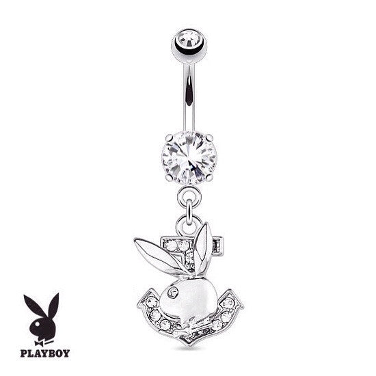 Play Boy Bunny Belly Button Rings