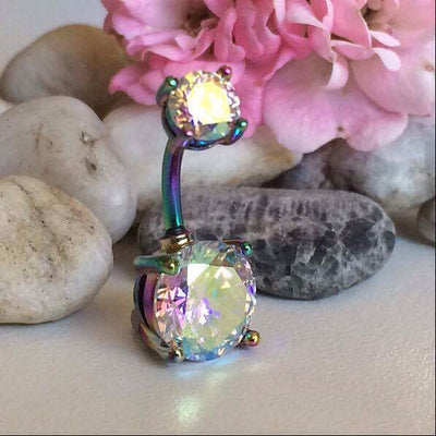 Paradise Glow Glamour Gem Belly Bar