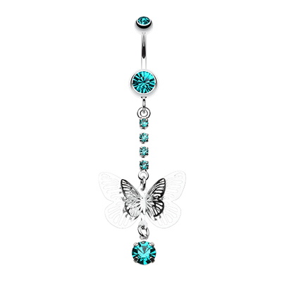 Butterfly Belly Button Jewellery